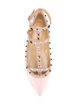 Балетки Rockstud Valentino Garavani                                                                                                              розовый цвет