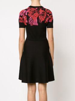 Платье Скейтер С Цветочным Принтом Lanvin                                                                                                              черный цвет