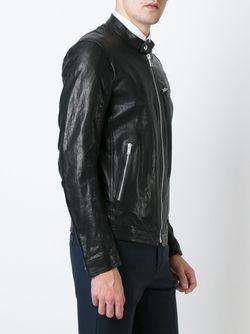 Кожаная Куртка Dondup                                                                                                              чёрный цвет