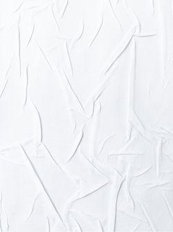 Футболка С Мятыми Деталями Maison Margiela                                                                                                              белый цвет