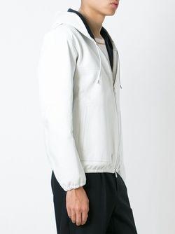 Куртка С Капюшоном Jil Sander                                                                                                              белый цвет