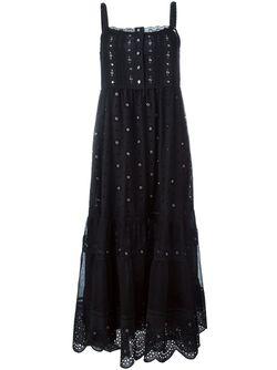 Платье С Декоративными Люверсами Marc by Marc Jacobs                                                                                                              черный цвет