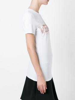 Футболка С Логотипом Versace                                                                                                              белый цвет