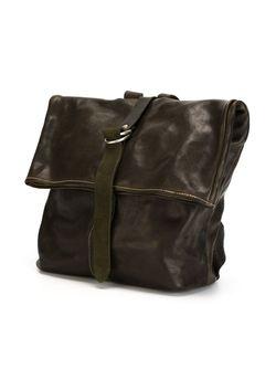 Рюкзак С Откидным Верхом GUIDI                                                                                                              зелёный цвет