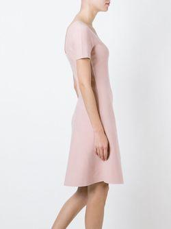 Расклешенное Платье Theory                                                                                                              розовый цвет