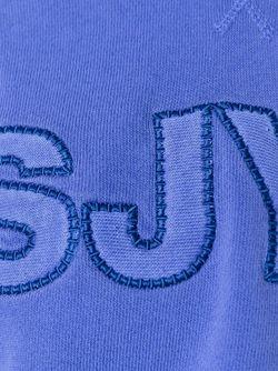 Укороченная Толстовка С Логотипом Steve J & Yoni P                                                                                                              синий цвет