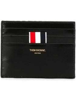 Классическая Визитница Thom Browne                                                                                                              чёрный цвет