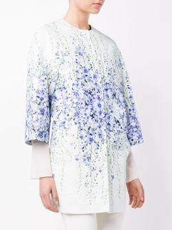 Пальто С Цветочным Принтом Giambattista Valli                                                                                                              многоцветный цвет