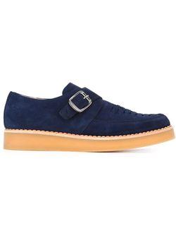 Туфли-Монки Diesel                                                                                                              синий цвет