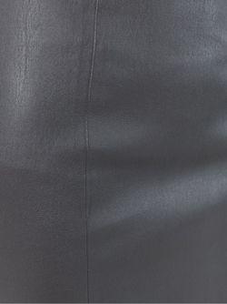 Юбка-Карандаш Из Кожи Ягненка Joseph                                                                                                              серый цвет