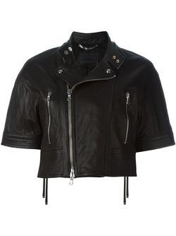 Укороченная Байкерская Куртка Diesel Black Gold                                                                                                              черный цвет