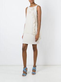 Платье Без Рукавов Twin-set                                                                                                              Nude & Neutrals цвет