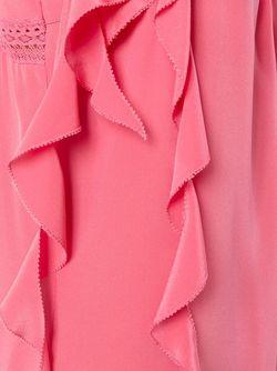 Платье На Бретелях С Рюшами Twin-set                                                                                                              розовый цвет