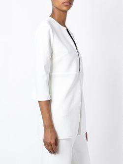 Удлиненная Блузка На Молнии Ellery                                                                                                              белый цвет
