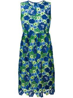Платье С Макраме P.A.R.O.S.H.                                                                                                              синий цвет