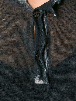 Свитер С Необработанными Краями Avant Toi                                                                                                              чёрный цвет