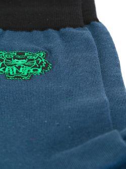 Носки С Вышивкой Paris Kenzo                                                                                                              синий цвет