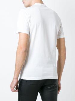 Футболка С Принтом Versace                                                                                                              белый цвет