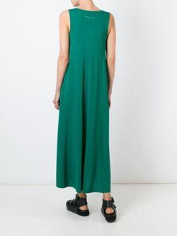 Платье Без Рукавов MM6 by Maison Margiela                                                                                                              зелёный цвет