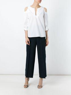 Блузка С Открытыми Плечами Dorothee Schumacher                                                                                                              белый цвет