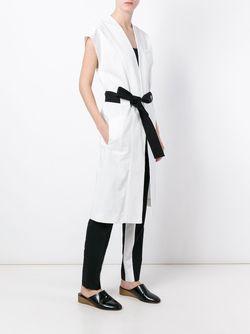 Пальто В Стиле Кимоно С Короткими Укавами Each X Other                                                                                                              белый цвет