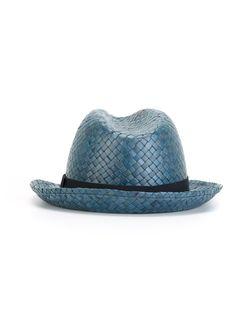 Соломенная Шляпа Hackett                                                                                                              синий цвет