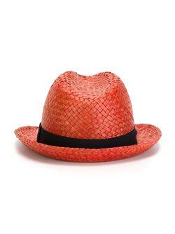 Соломенная Шляпа Hackett                                                                                                              красный цвет