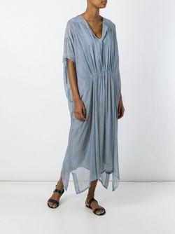 Платье-Кафтан Raquel Allegra                                                                                                              синий цвет