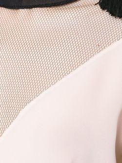 Блузка С Прозрачной Вставкой Versace                                                                                                              розовый цвет