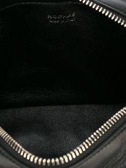 Декорированная Сумка Через Плечо Rochas                                                                                                              чёрный цвет