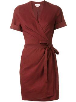 Платье С Запахом Kansas Isabel Marant Étoile                                                                                                              красный цвет
