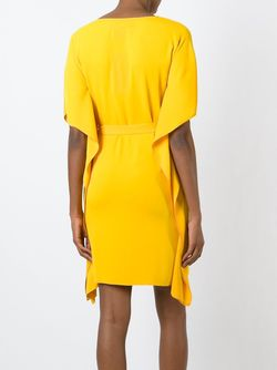 Платье С Поясом MM6 by Maison Margiela                                                                                                              желтый цвет