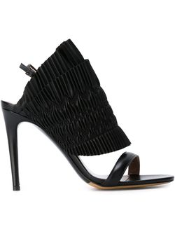 Босоножки Flouncy Tabitha Simmons                                                                                                              чёрный цвет