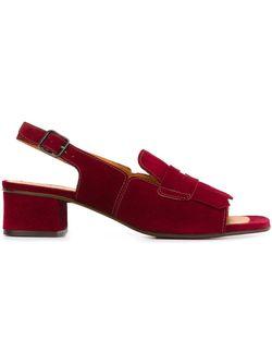 Туфли С Открытой Пяткой Chie Mihara                                                                                                              красный цвет