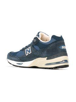 Кроссовки 991 New Balance                                                                                                              синий цвет