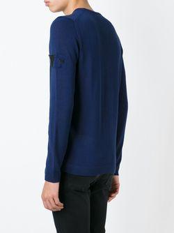 Свитер С Круглым Вырезом STONE ISLAND SHADOW PROJECT                                                                                                              синий цвет