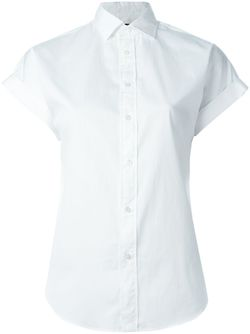 Футболка С Короткими Рукавами Polo Ralph Lauren                                                                                                              белый цвет