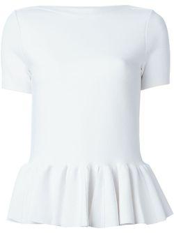 Футболка С Баской Blugirl                                                                                                              белый цвет