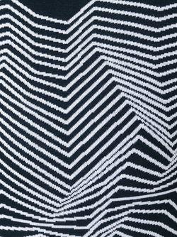 Джемпер С Зигзагообразным Узором Neil Barrett                                                                                                              синий цвет