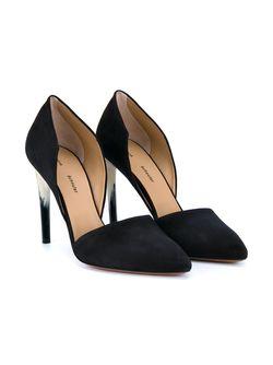 Туфли На Контрастном Каблуке Proenza Schouler                                                                                                              чёрный цвет