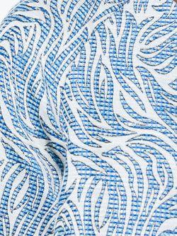 Жаккардовый Топ С Короткими Рукавами Paul & Joe                                                                                                              синий цвет
