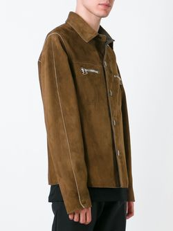 Двухсторонняя Куртка Lanvin                                                                                                              коричневый цвет