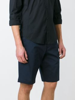 Camouflage Waistband Shorts Dior Homme                                                                                                              синий цвет