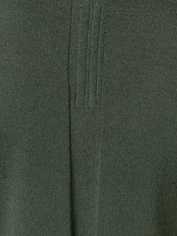 Удлиненный Свитер C V-Образным Вырезом Rick Owens                                                                                                              зелёный цвет