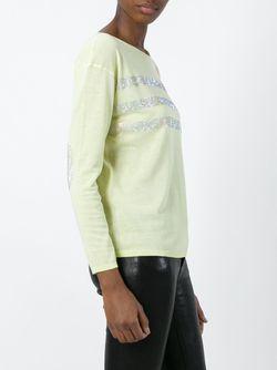 Декорированный Свитер Twin-Set Jeans                                                                                                              желтый цвет