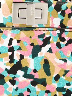 Мини Сумка-Тоут Peekaboo Fendi                                                                                                              многоцветный цвет