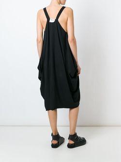Асимметричное Платье C V-Образным Вырезом LOST AND FOUND ROOMS                                                                                                              черный цвет