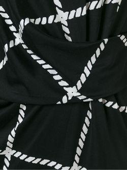 Приталенное Платье В Клетку Steffen Schraut                                                                                                              чёрный цвет