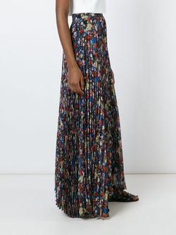 Длинная Юбка С Цветочным Принтом Alice + Olivia                                                                                                              многоцветный цвет