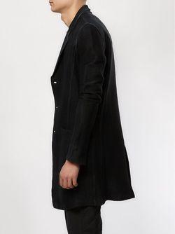 Однобортное Пальто Avant Toi                                                                                                              черный цвет